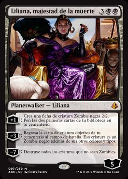 Liliana, majestad de la muerte