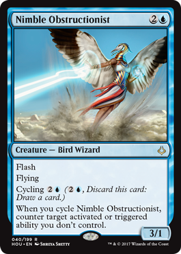 Nimble Obstructionist