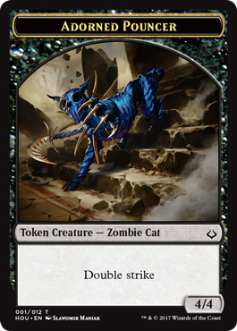 image relating to Mtg Tokens Printable known as The Tokens of Hour of Devastation MAGIC: THE Amassing
