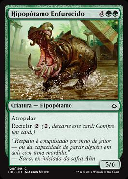 Hipopótamo Enfurecido