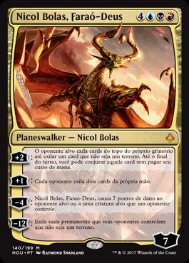 Nicol Bolas, Faraó-Deus