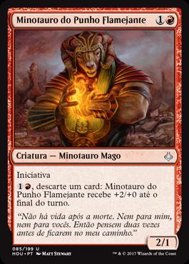 Minotauro do Punho Flamejante
