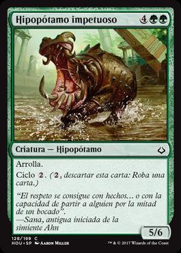 Hipopótamo impetuoso