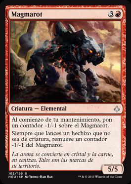 Magmarot