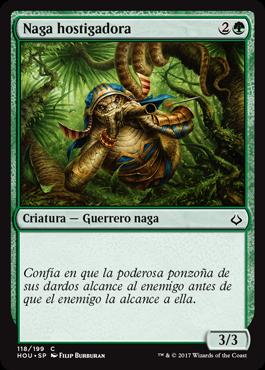 Naga hostigadora