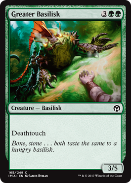 Greater Basilisk