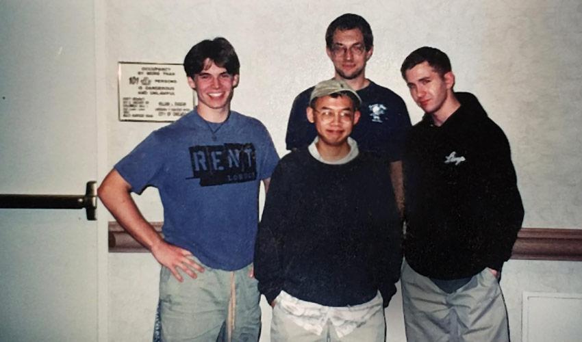 Brian Kibler, Lan D Ho, Brian Kowal, and Dan Burdick