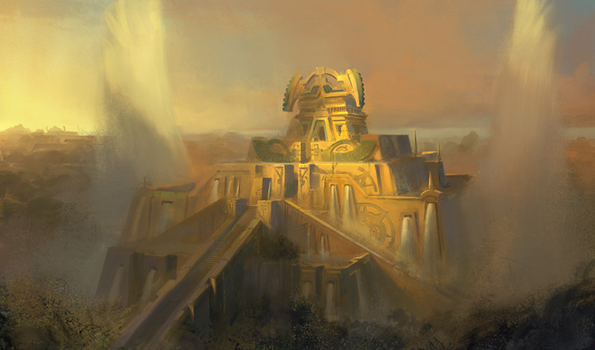 Winged Temple of Orazca