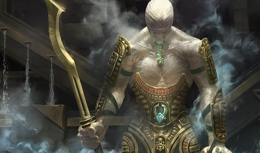 Os Sete Portões  - Página 8 Cardart_AKH_TOK_Labyrinth-Guardian