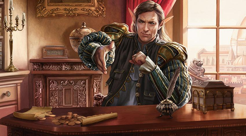 Leovald, Emissary of Trest