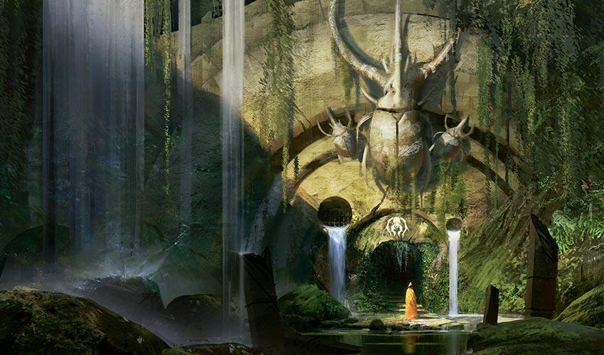 Porte de la guilde de Golgari