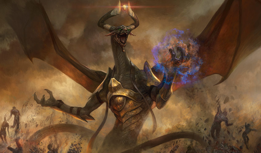 Damnation invocation art