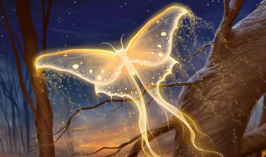 Goldenglow Moth