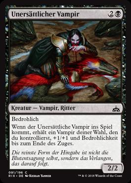Unersättlicher Vampir