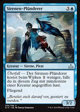 Sirenen-Plünderer
