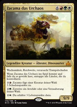 Zacama das Urchaos
