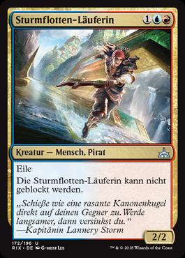 Sturmflotten-Läuferin