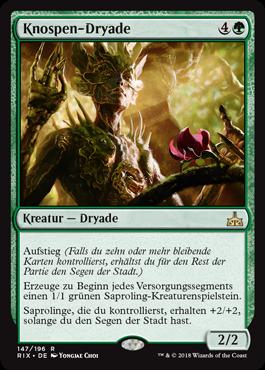 Knospen-Dryade