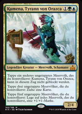 Kumena, Tyrann von Orazca
