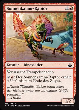 Sonnenkamm-Raptor