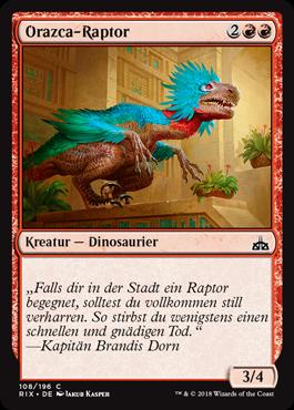 Orazca-Raptor