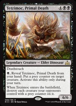 Tetzimoc, Primal Death