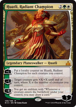 Huatli, Radiant Champion