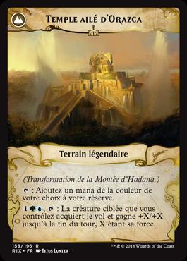 Temple ailé d'Orazca