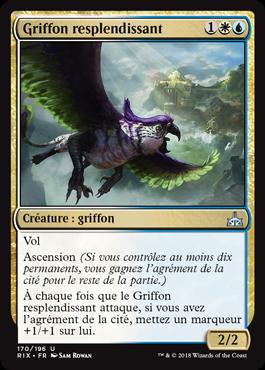 Griffon resplendissant