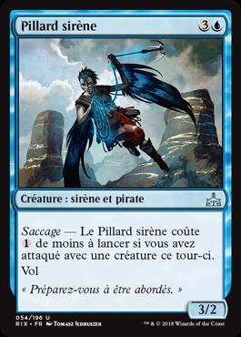 Pillard sirène