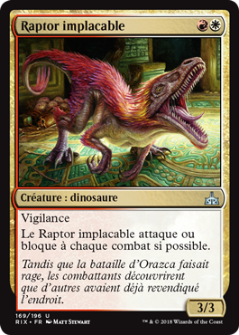 Raptor implacable