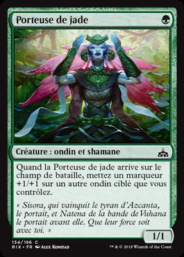 Porteuse de jade
