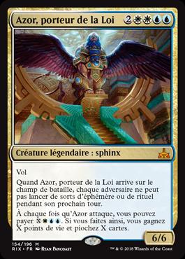 Azor, porteur de la Loi