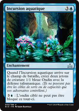 Incursion aquatique
