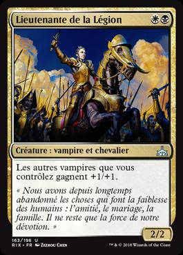 Lieutenante de la Légion