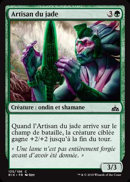 Artisan du jade