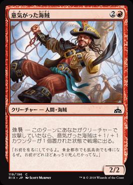 意気がった海賊