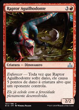 Raptor Aguilhodonte