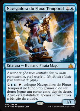 Navegadora do Fluxo Temporal