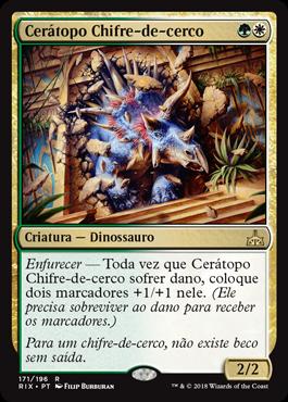 Cerátopo Chifre-de-cerco