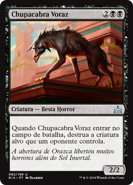 Chupacabra Voraz