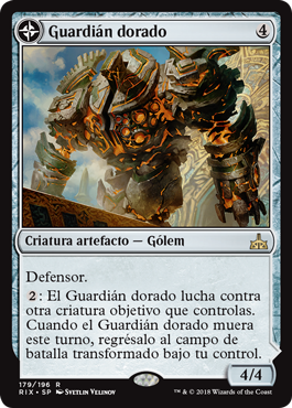 Guardián dorado
