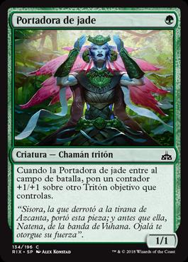 Portadora de jade