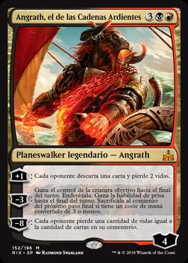Angrath, el de las Cadenas Ardientes