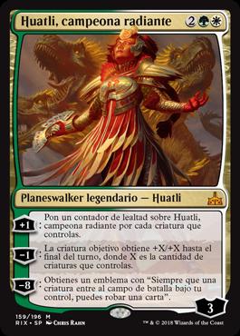 Huatli, campeona radiante