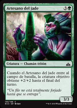 Artesano del jade