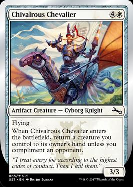 Chivalrous Chevalier