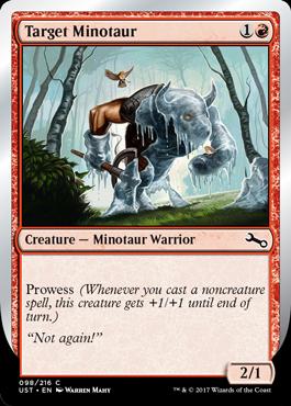 Target Minotaur
