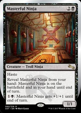 [UST] Masterful Ninja