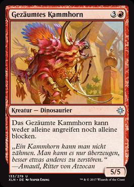 Gezäumtes Kammhorn